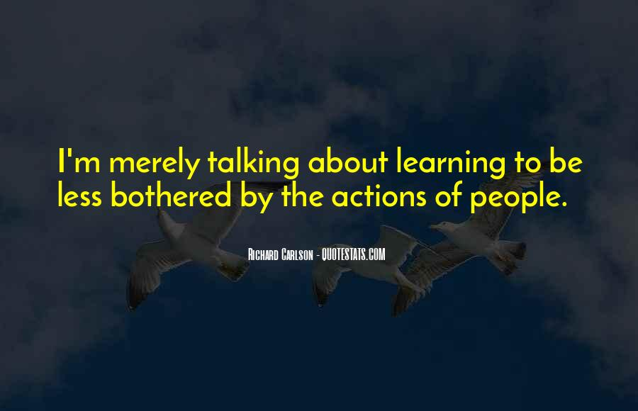 Quotes About Learning From People's Actions #1202495