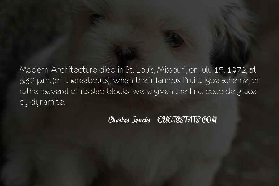 Quotes About St Louis Missouri #1085769