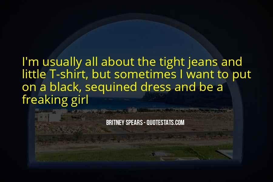 Quotes About A Girl In A Black Dress #173002
