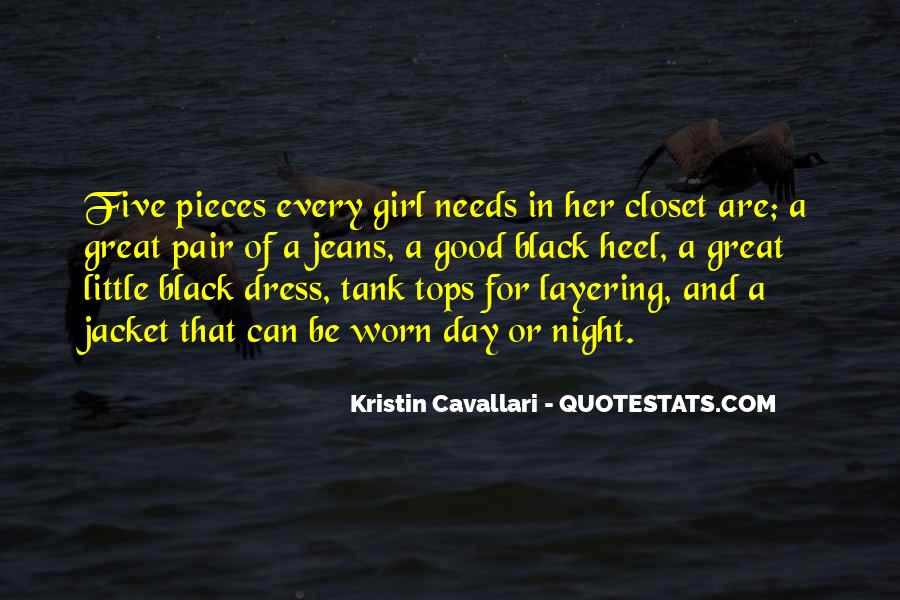Quotes About A Girl In A Black Dress #589518