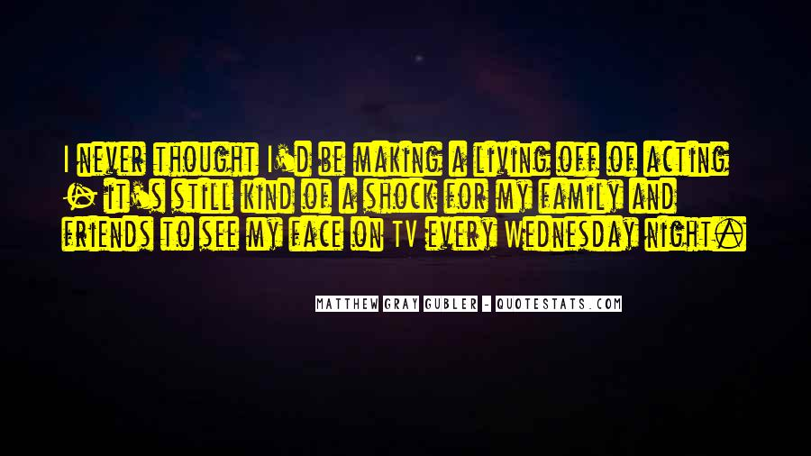 Quotes About Wednesday Night #1005288