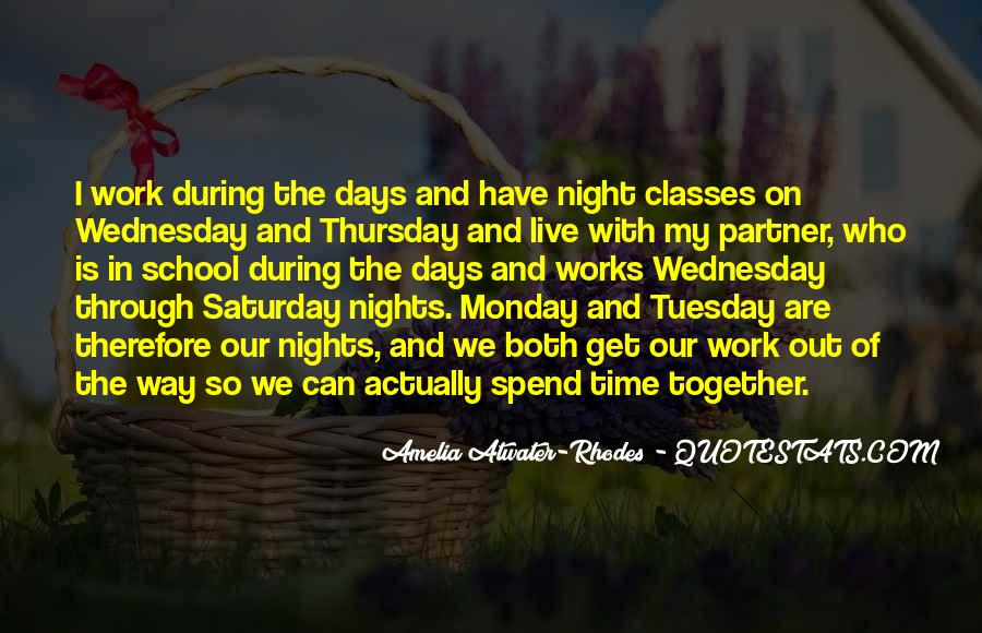 Quotes About Wednesday Night #363110