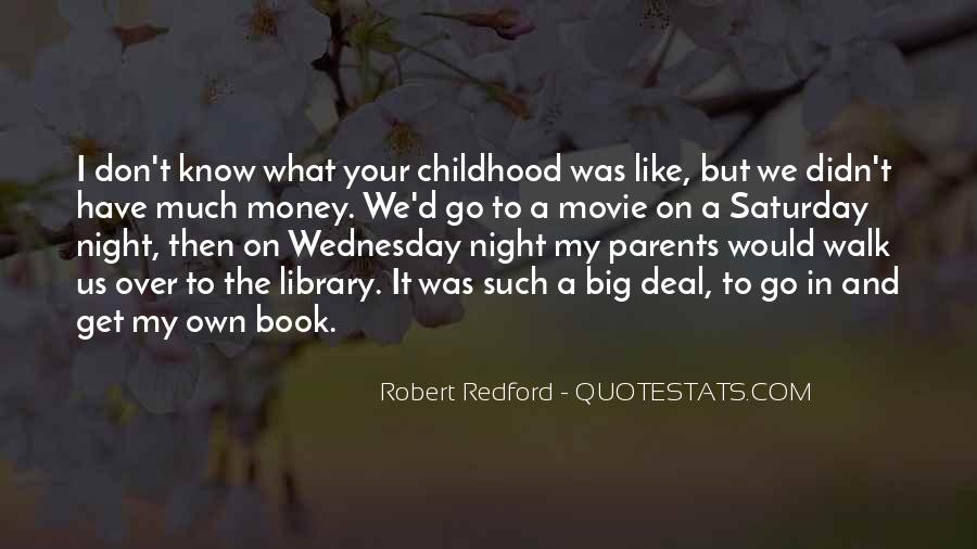 Quotes About Wednesday Night #378239