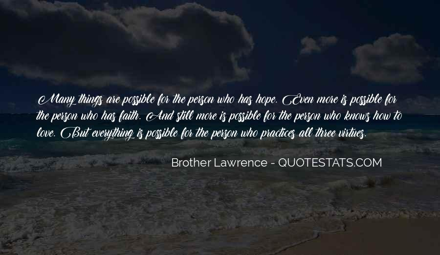 Quotes About Faith Love And Hope #127812