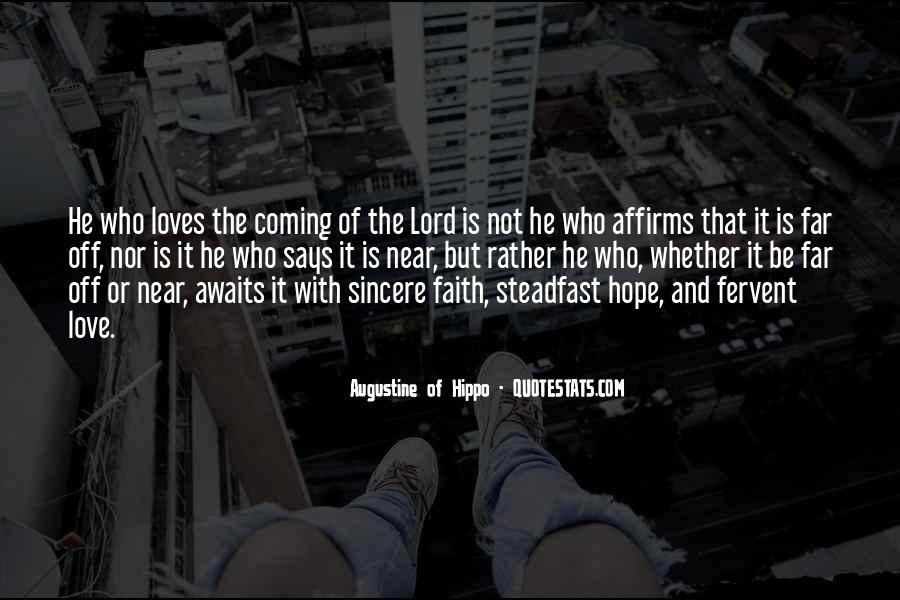 Quotes About Faith Love And Hope #12908