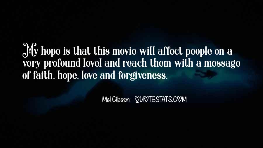 Quotes About Faith Love And Hope #180166