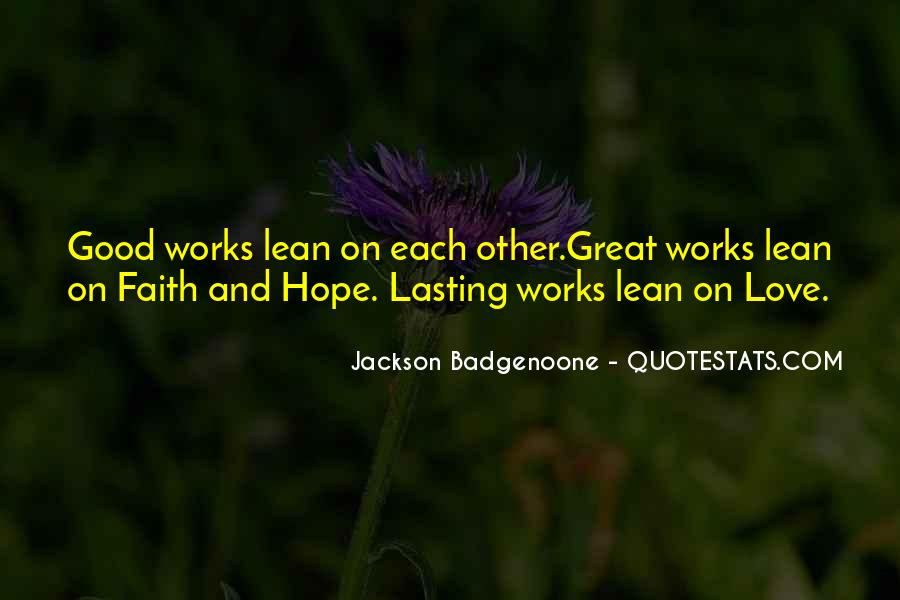 Quotes About Faith Love And Hope #243141
