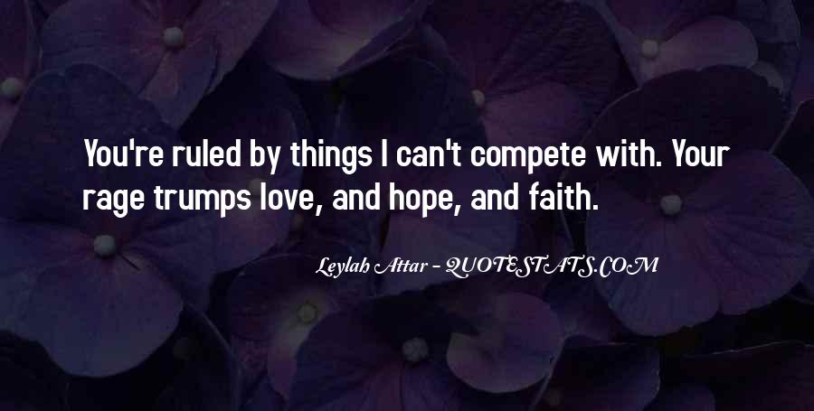 Quotes About Faith Love And Hope #252170
