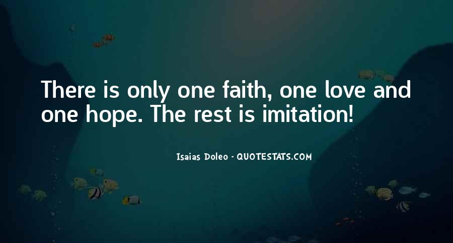 Quotes About Faith Love And Hope #254670