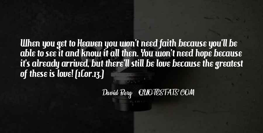 Quotes About Faith Love And Hope #287810