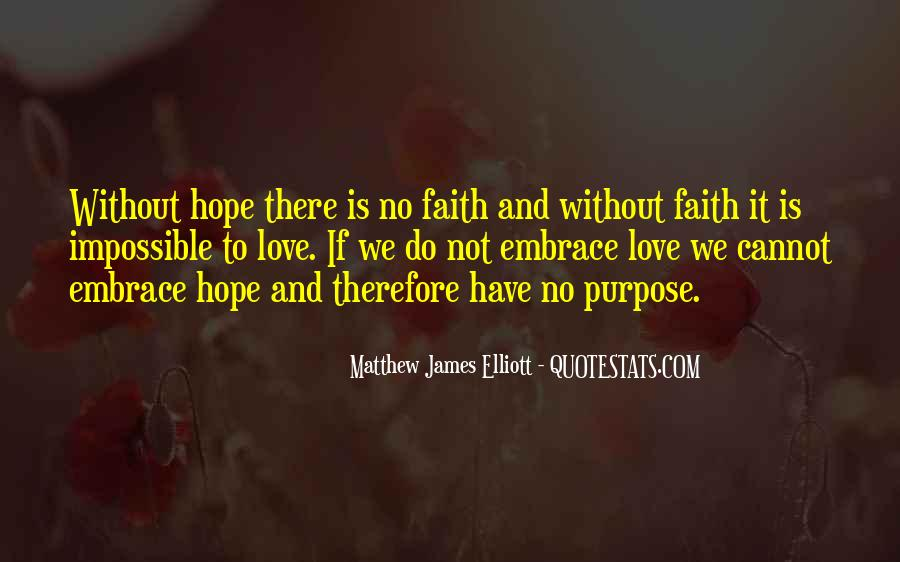Quotes About Faith Love And Hope #479833