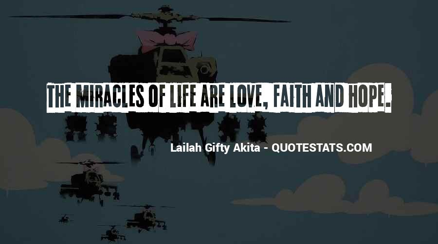 Quotes About Faith Love And Hope #505068