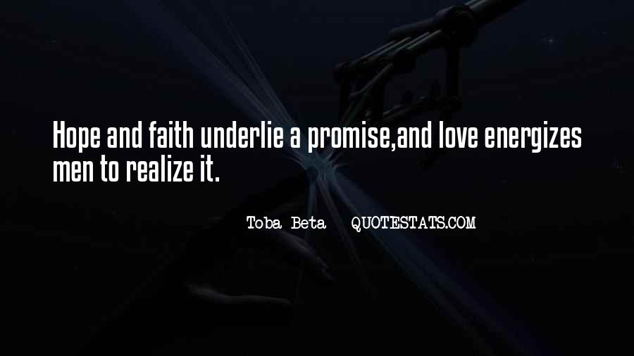 Quotes About Faith Love And Hope #521124