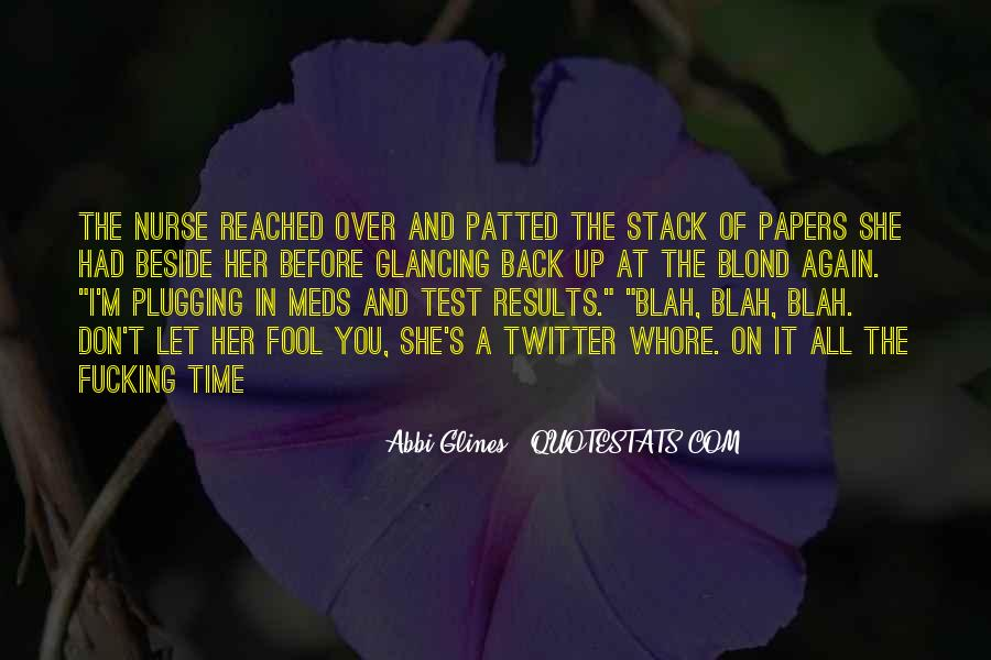 Quotes About Test Papers #785370