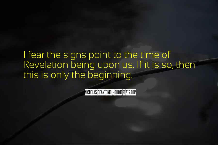Quotes About Signs From Heaven #1129722