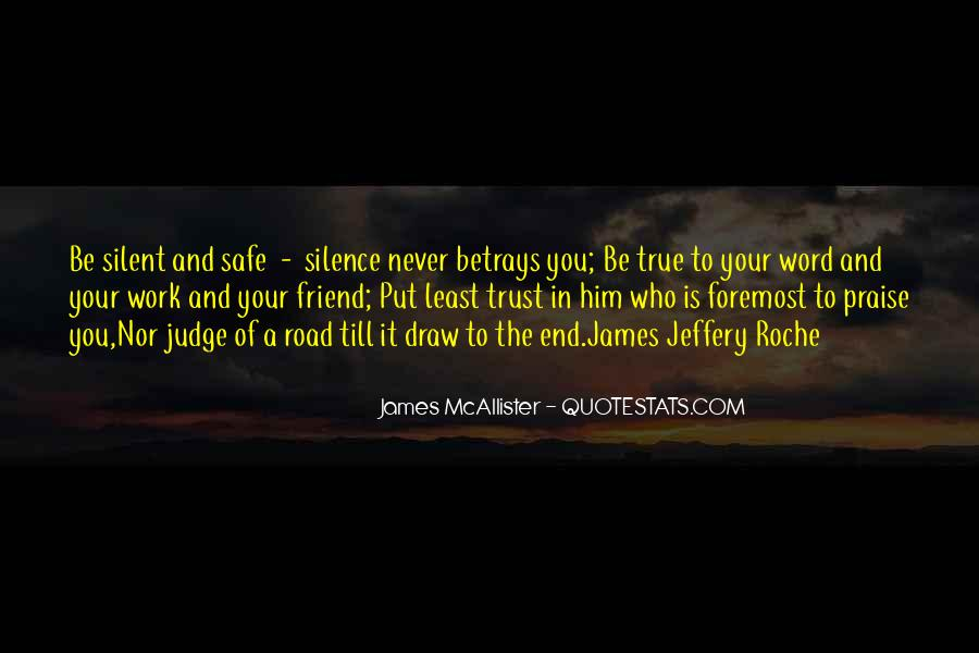 Quotes About True Friend And Trust #1711950