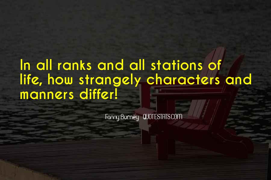 Quotes About Ranks #407817