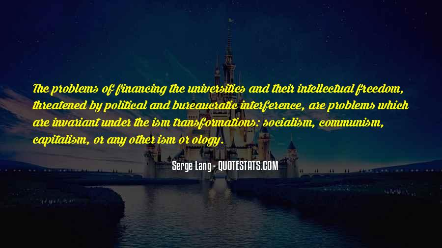 Quotes About Socialism Freedom #195427