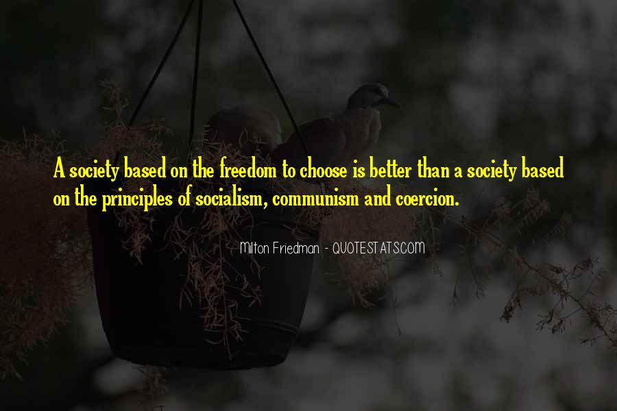 Quotes About Socialism Freedom #232091