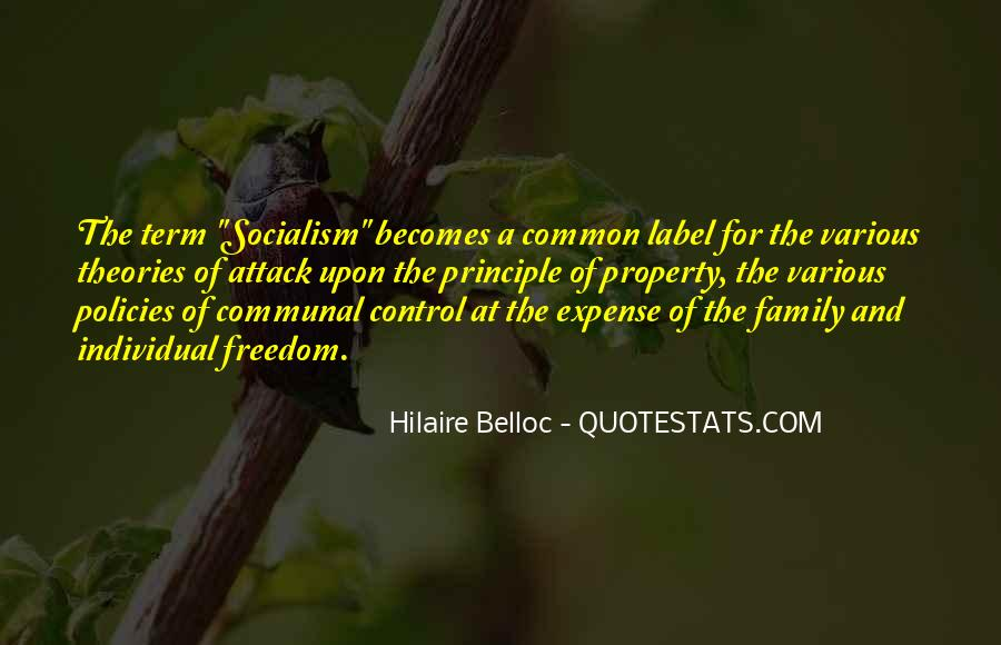 Quotes About Socialism Freedom #329961