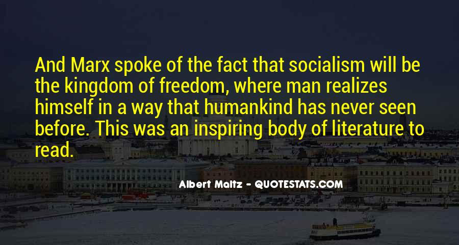 Quotes About Socialism Freedom #519881