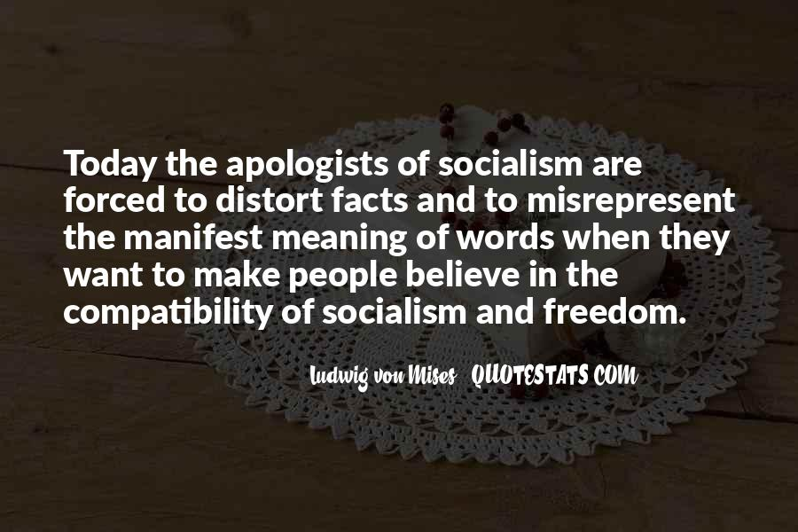 Quotes About Socialism Freedom #974386