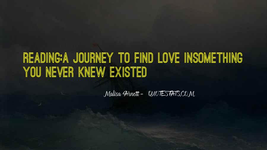 Quotes About Love That Never Existed #1037207