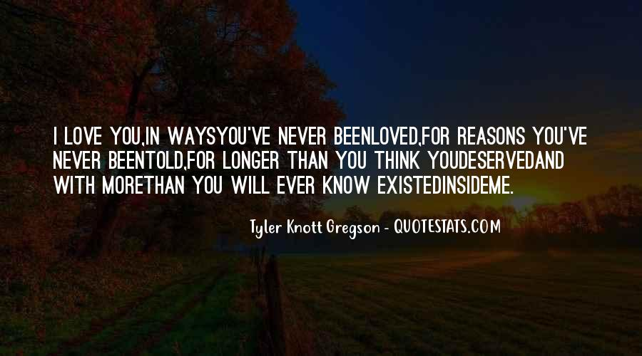 Quotes About Love That Never Existed #1694814