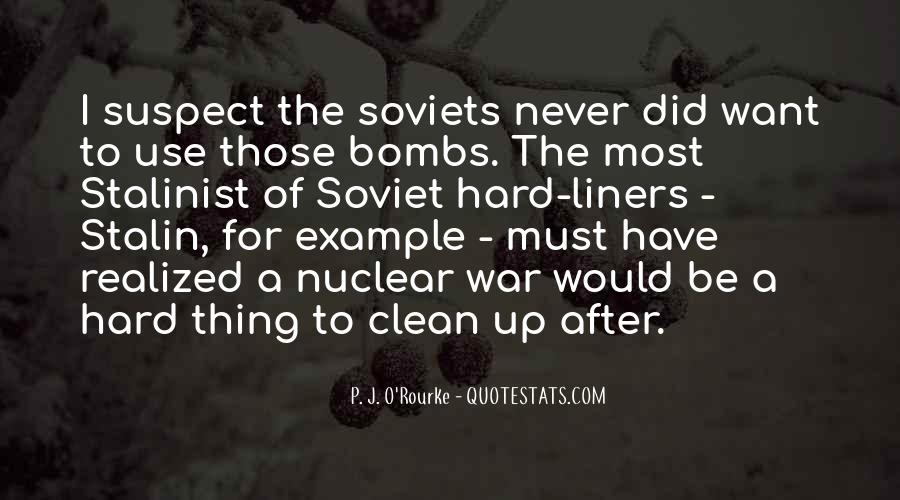 Quotes About Nuclear War #145924
