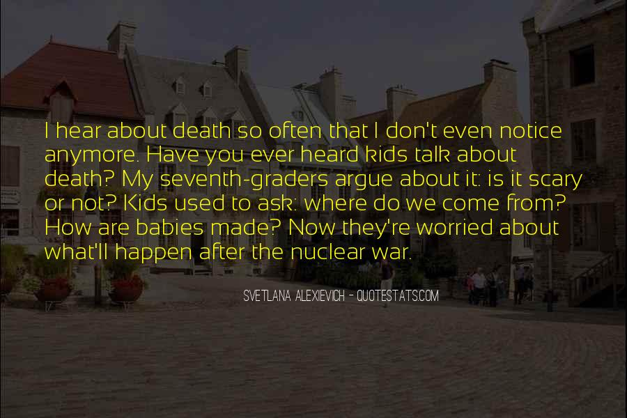 Quotes About Nuclear War #207783