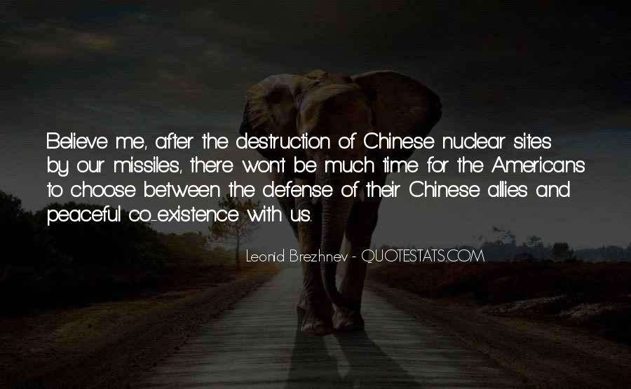 Quotes About Nuclear War #217962
