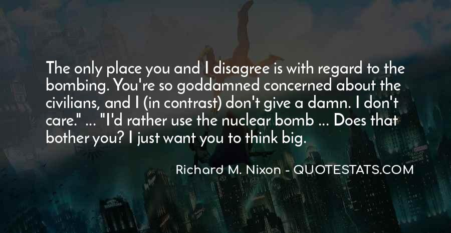 Quotes About Nuclear War #305224