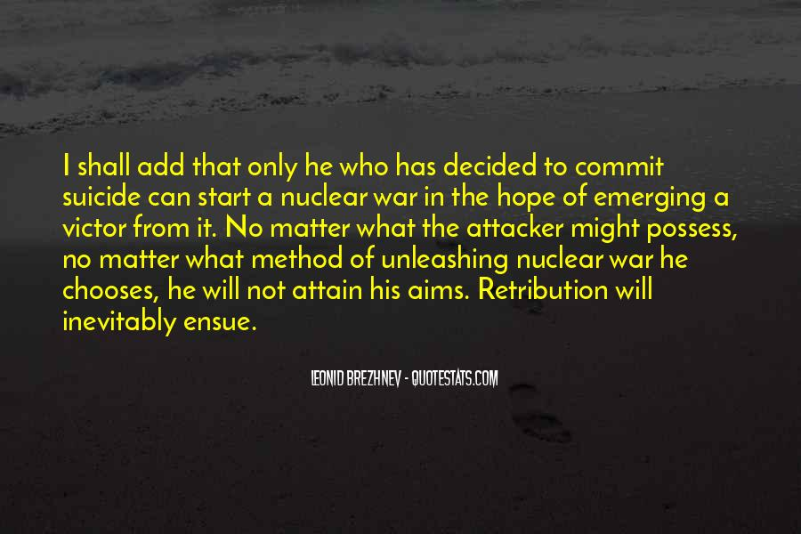 Quotes About Nuclear War #380875