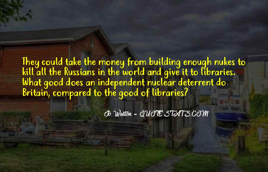 Quotes About Nuclear War #402469