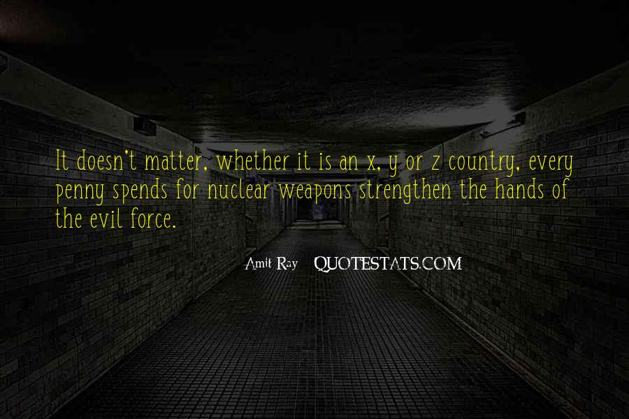 Quotes About Nuclear War #477829