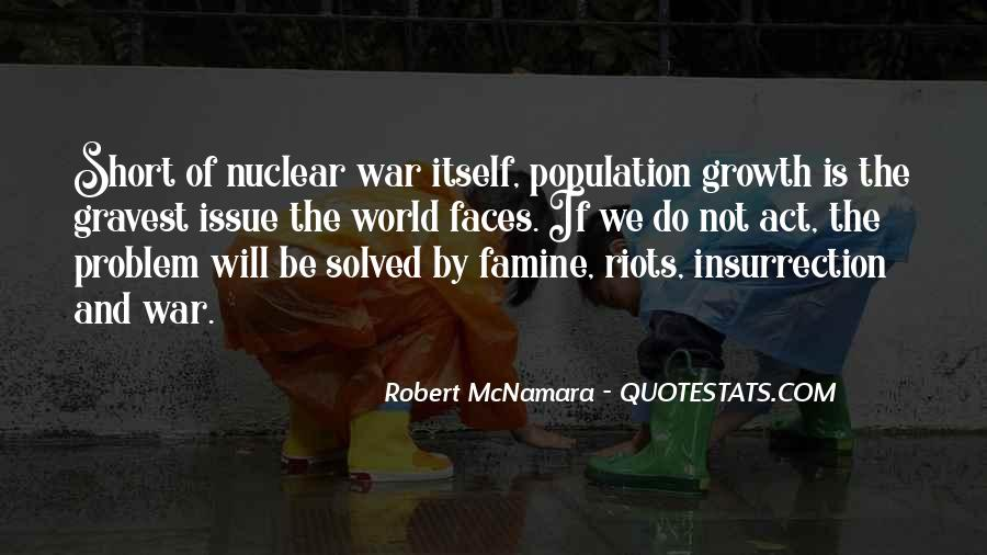 Quotes About Nuclear War #559406