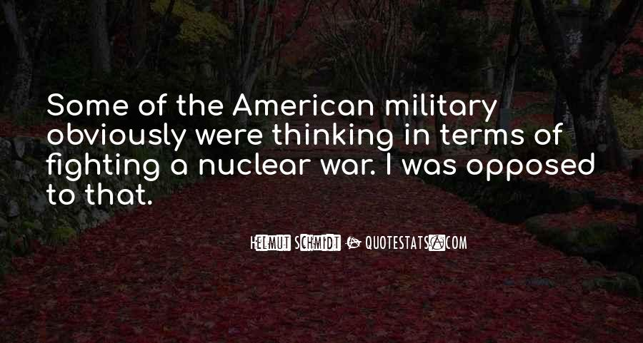 Quotes About Nuclear War #816908