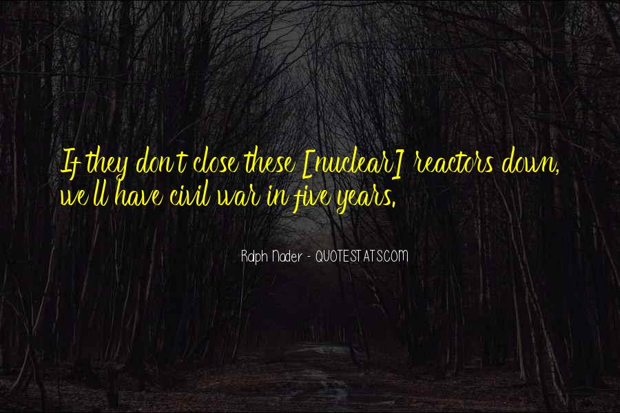 Quotes About Nuclear War #853887