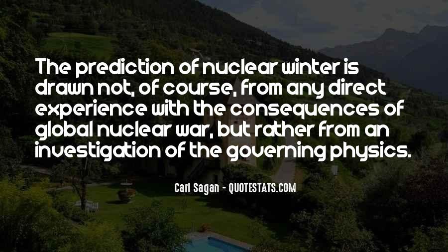 Quotes About Nuclear War #96588