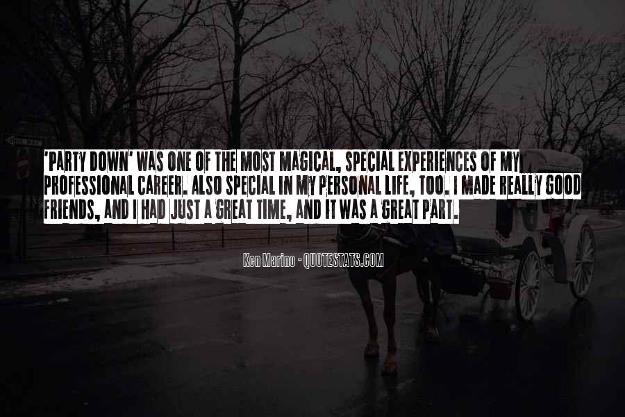Quotes About Great Life Experiences #142491