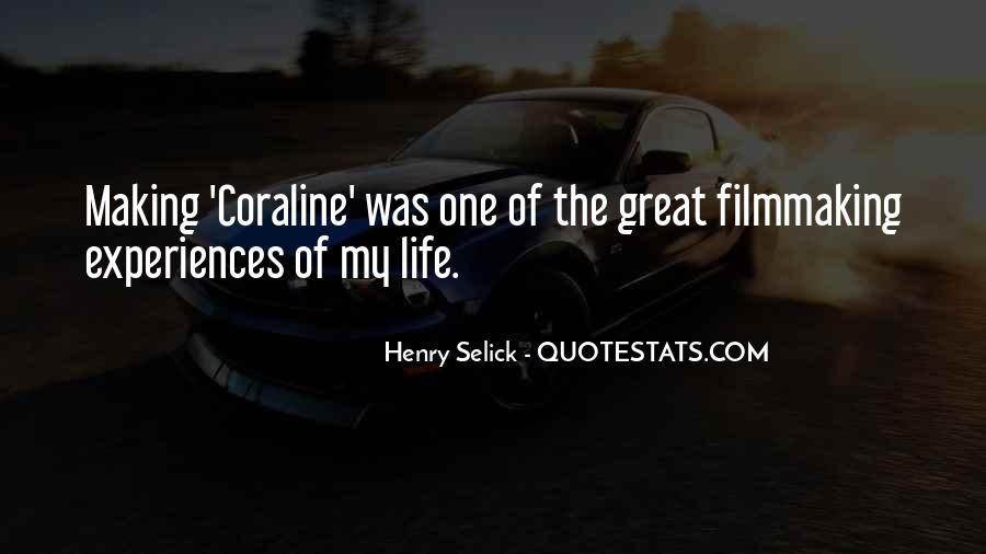 Quotes About Great Life Experiences #383815
