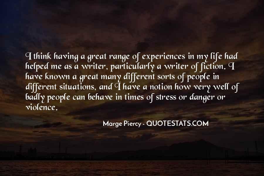 Quotes About Great Life Experiences #791367