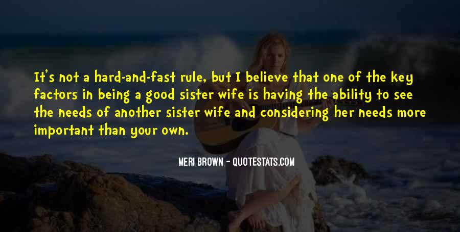 Quotes About Being Your Wife #13384