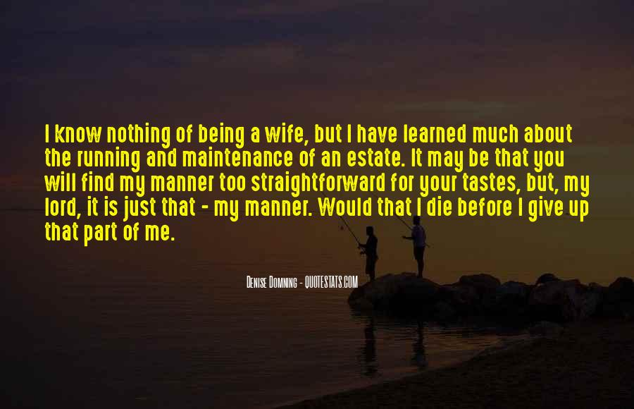 Quotes About Being Your Wife #238054