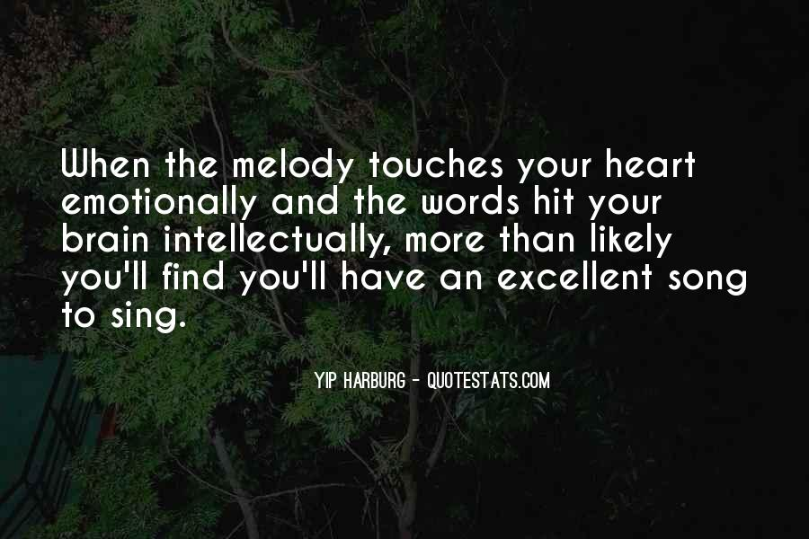 Quotes About Your Brain And Heart #1255133