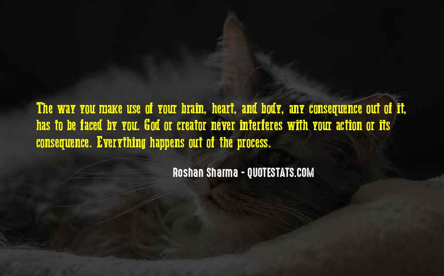 Quotes About Your Brain And Heart #1264498