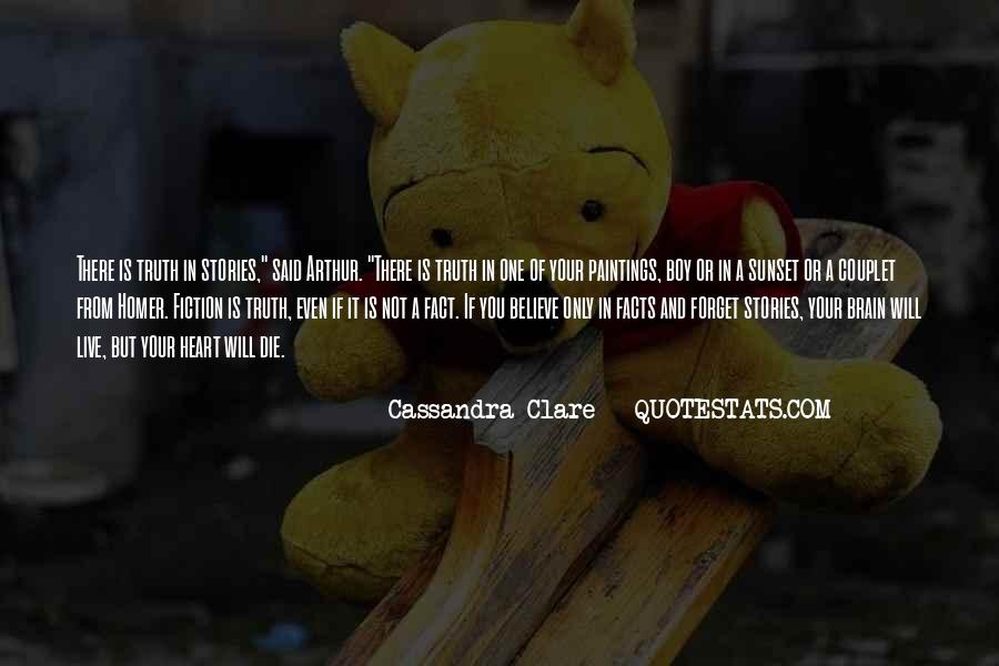 Quotes About Your Brain And Heart #1443311