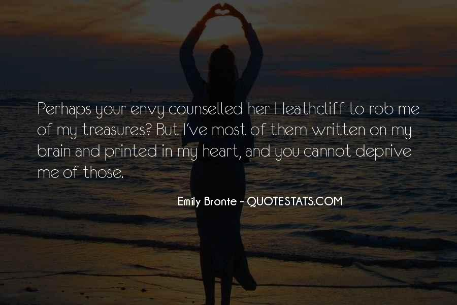 Quotes About Your Brain And Heart #634959