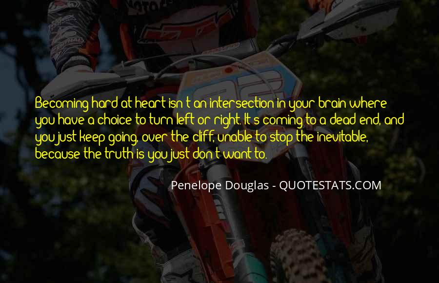 Quotes About Your Brain And Heart #871230