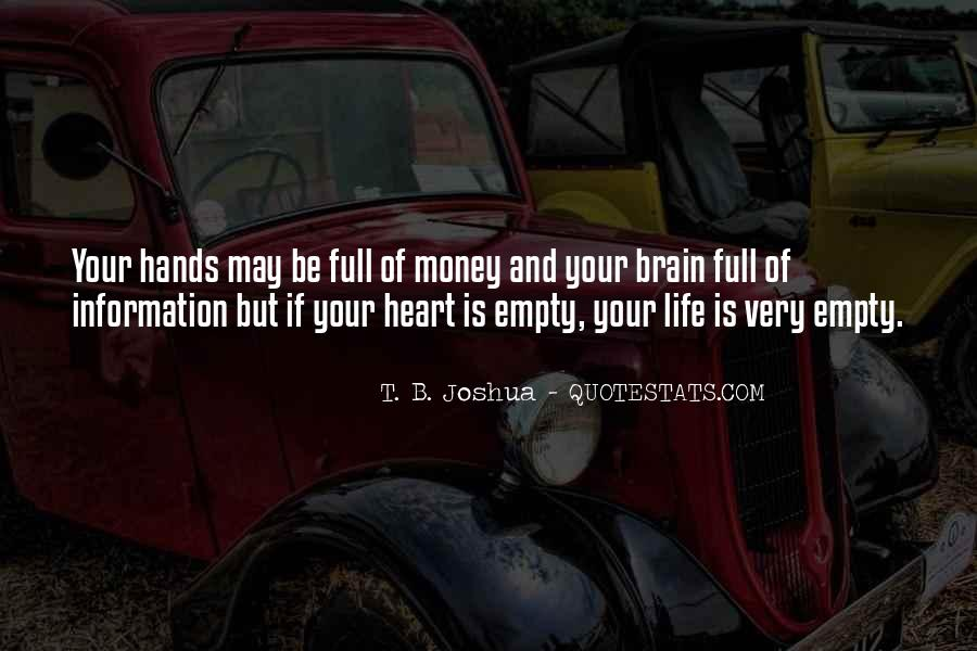 Quotes About Your Brain And Heart #899345